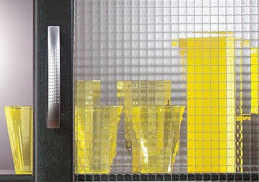 Drahtgebundenes Glas